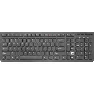 Клавиатура беспроводная Defender UltraMate SM-535 RU,черный,мультимедиа - Officedom (1)