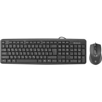 Комплект проводной клавиатура+мышь Defender Dakota C-270 RU, черный - Officedom (1)