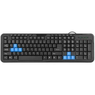 Клавиатура проводная Defender OfficeMate HM-430 RU черный - Officedom (1)