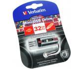 USB Флеш 32GB 2.0 Verbatim 049391 кассета черная | OfficeDom.kz