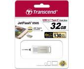 USB Флеш 32GB 3.1 Transcend TS32GJF850S type C металл | OfficeDom.kz